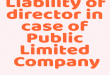 Liability of director in case of Public Limited Company under CGST Act 2017