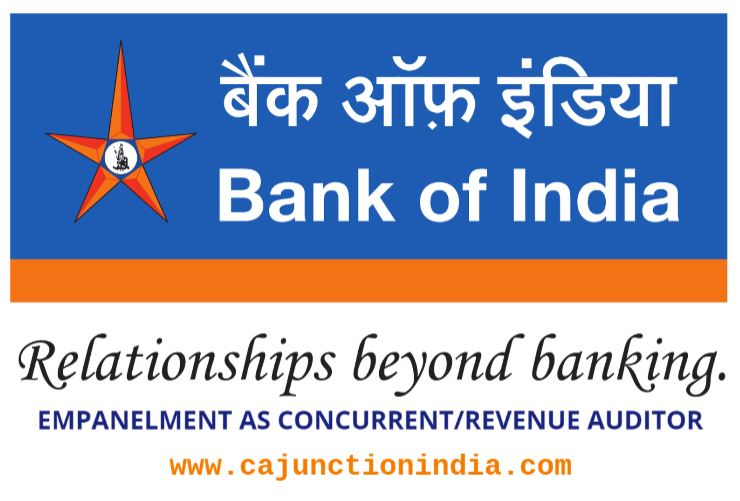 Bank of India invites applications for empanelment of Concurrent/Revenue Auditors